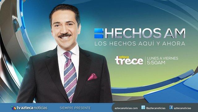Hechos AM en Vivo con Jorge Zarza – Ver el programa en vivo y online por internet gratis