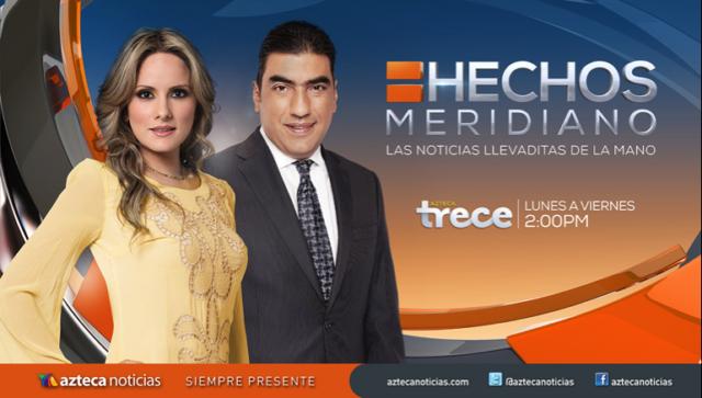 Hechos Meridiano en Vivo – Ver programa Online, por Internet y Gratis!