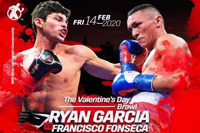 Ryan García vs Francisco Fonseca en Vivo – Box – Viernes 14 de Febrero del 2020