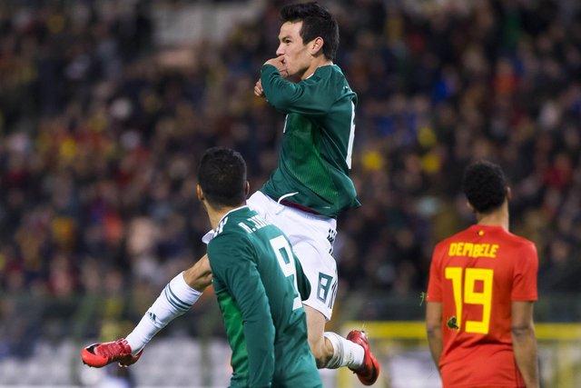 Resultado Selección Mexicana vs Belgica – Partido Amistoso