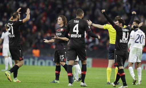 Tottenham 0-1 Leverkusen en la Champions League