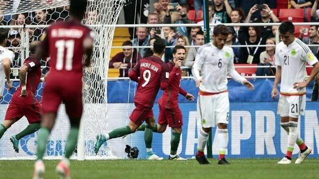 México pierde 1-2 frente a Portugal y queda en cuarto lugar de la Copa Confederaciones Rusia 2017