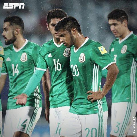 Inglaterra venció 1-0 a México y clasificó a semifinales del Mundial Sub-20