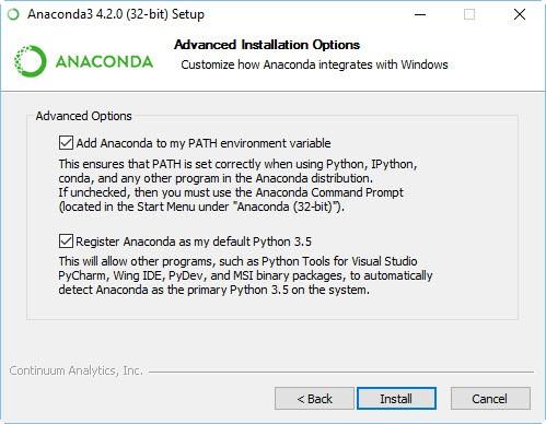 run script from anaconda command prompt