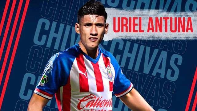 Chivas anuncia fichaje de Uriel Antuna