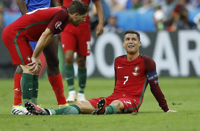 Diagnóstico de la lesión de Cristiano Ronaldo