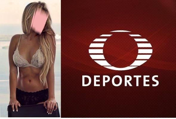 Televisa deportes también debutará a sensual conductora, hija de famosa periodista