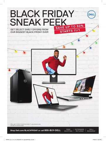 Ofertas para Dell Viernes Negro 2019