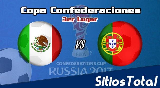 Portugal vs México en Vivo – 3er Lugar – Copa Confederaciones – Domingo 2 de Julio del 2017