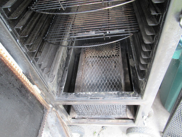 Not really an insulated reverse flow cabinet smoker