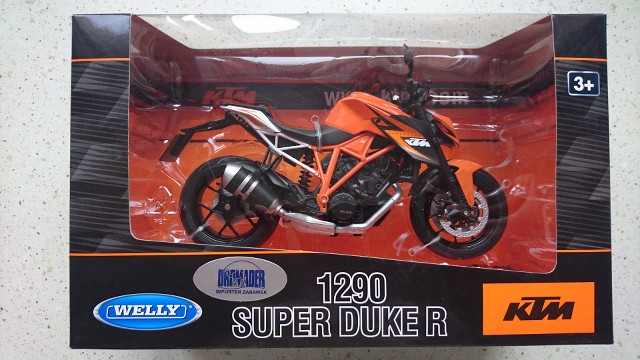 Details about WELLY KTM 1290 SUPER DUKE R 1:10 DIE CAST METAL NEW IN BOX