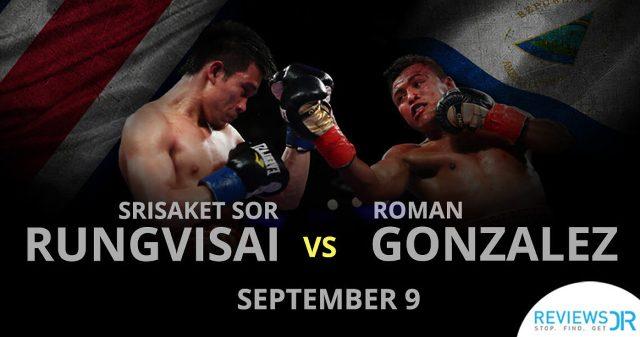 Wisaksil Wangek vs Román González en Vivo – Box – Sábado 9 de Septiembre del 2017