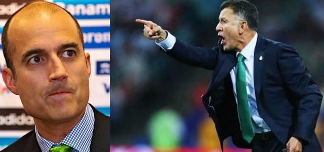 A Guillermo Cantú, no le importa México,  Osorio sigue