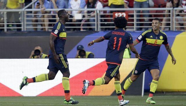 Estados Unidos 0-2 Colombia  en Copa América Centenario