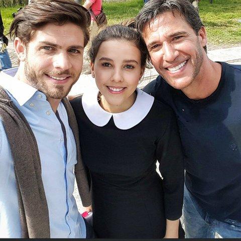 Foto de Paulina Goto, Horacio Pancheri y Agustín Arana