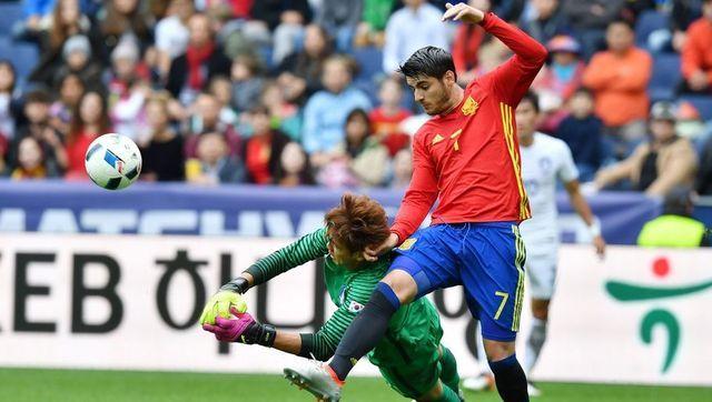 Delanteros que son guía para Álvaro Morata
