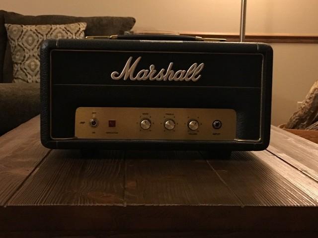 Marshall JMP-1 Head 50th Anniversary 1 Watt   My Les Paul Forum