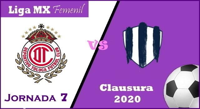 Toluca vs Monterrey – Donde ver por TV y Horario – Clausura 2020 Liga MX Femenil