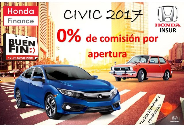 Ofertas de Honda para El Buen Fin 2017