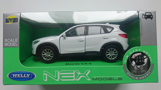 WELLY MAZDA CX-5 WHITE 1:34 DIE CAST METAL MODEL NEW IN BOX   eBay