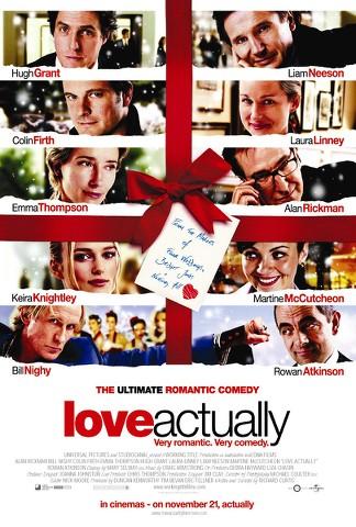 Película Realmente Amor por TV – Sábado 24 de Diciembre del 2016