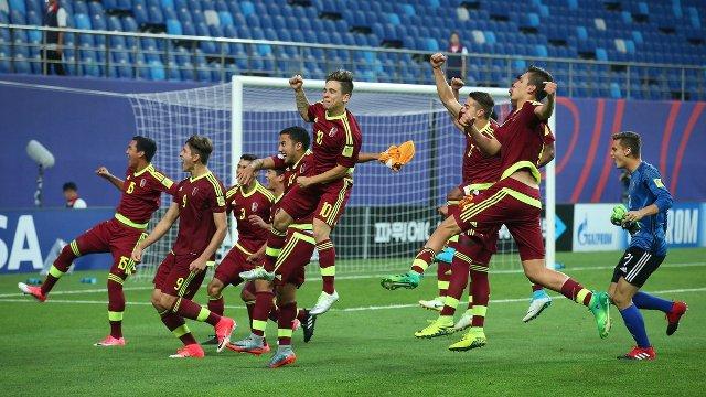 Venezuela 1-1 Uruguay y en penales la vinotinto va a la final
