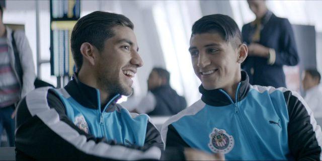 Pizarro y Pulido en comercial caliente