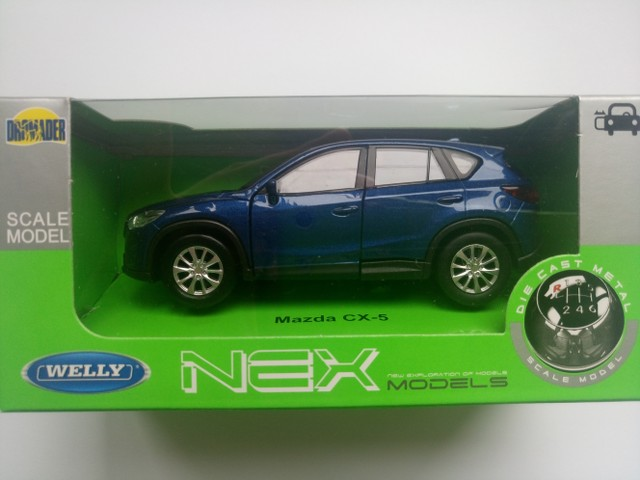 WELLY MAZDA CX-5 BLUE 1:34 DIE CAST METAL MODEL NEW IN BOX   eBay