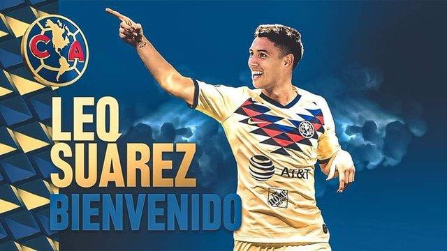 América anuncia la llegada de Leo Suarez