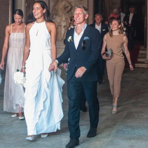 Ana Ivanovic y Bastian Schweinsteiger se han casado en Venecia