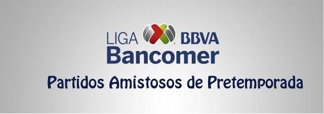 Amistosos previos al Apertura 2017 de la Liga MX