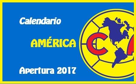 Calendario de las América para el Torneo de Apertura del 2017