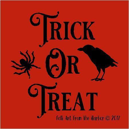 trick or treat pumpkin template - fall halloween stencils