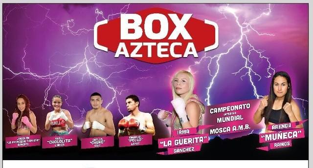"""Irma """"La Güerita"""" Sánchez vs Brenda """"La Muñeca"""" Ramos en Vivo – Box – Sábado 14 de Octubre del 2017"""