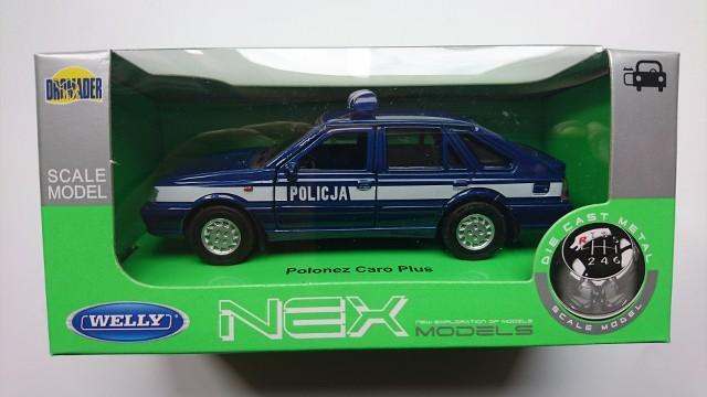 Polonez Caro Polish Police Radiowoz 1:43 MODEL CAR USSR DIECAST IST P213