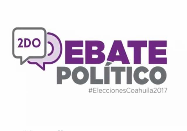 2do debate entre candidatos a la gubernatura de Coahuila en Vivo – Jueves 4 de Mayo del 2017