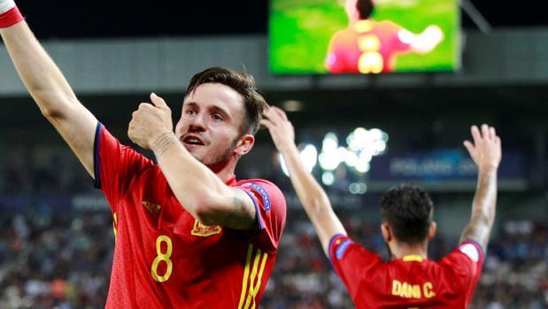 España ganó 3-1 a Italia y jugará la final de la Eurocopa Sub-21