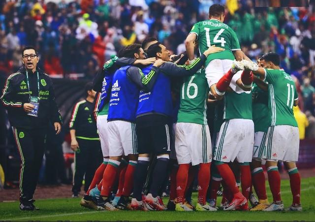 México obtiene su boleto a Rusia 2018