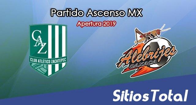 Ver Atlético Zacatepec vs Alebrijes de Oaxaca en Vivo – Final Ida – Ascenso MX en su Torneo de Apertura 2019
