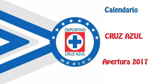 Calendario de las Cruz Azul para el Torneo de Apertura del 2017