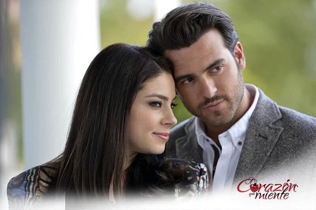 foto promocional de la telenovela Corazón que miente