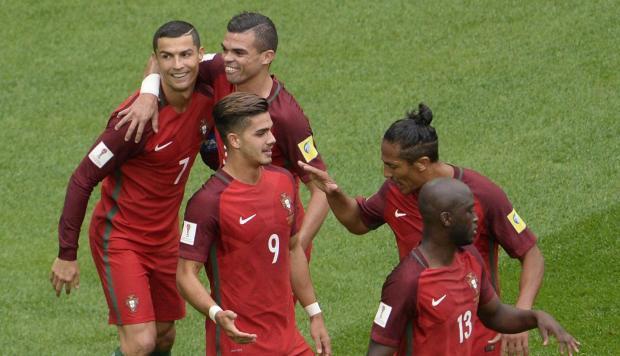 Portugal goleó 4-0 a Nueva Zelanda en la Copa Confederaciones