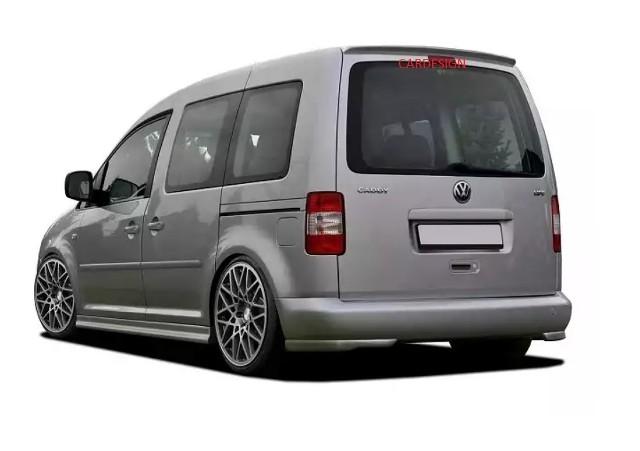 Cup Spoiler Lippe Spoilerlippe Frontspoiler Stoßstange für VW Caddy 3 III 2K