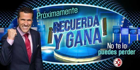 Recuerda y Gana con Marco Antonio Regil en Vivo – Ver programa Online, por Internet y Gratis!