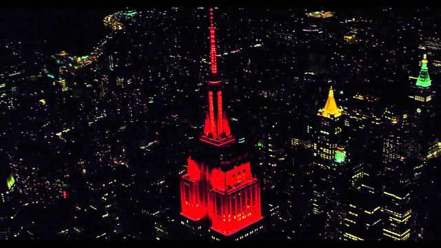 Empire State se ilumina para Halloween en Nueva York en Vivo – Lunes 31 de Octubre del 2016