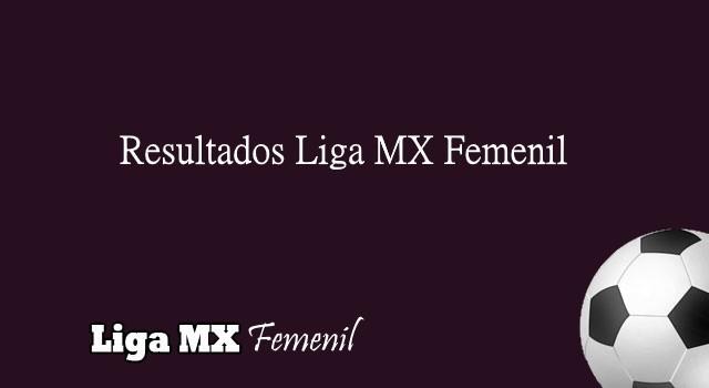 Resultados Liga MX Femenil