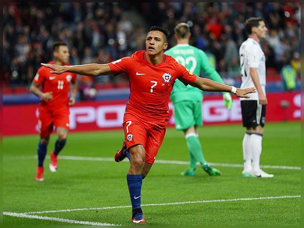 Chile 1-1  Alemania  en la Copa Confederaciones
