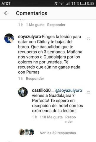 Nico instagram comentario responde
