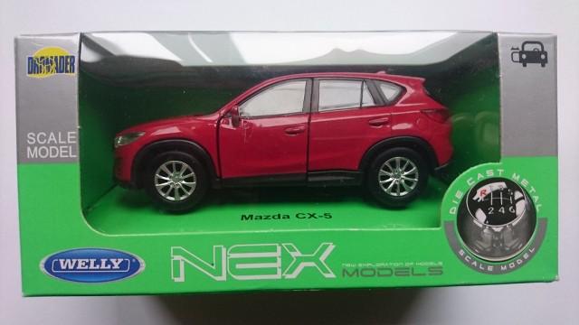 WELLY MAZDA CX-5 RED 1:34 DIE CAST METAL MODEL NEW IN BOX   eBay