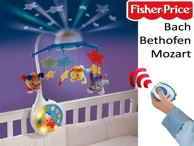 fisher price karussell mit projektor und musik fernbedienung neu ovp ebay. Black Bedroom Furniture Sets. Home Design Ideas